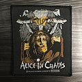 Vintage Alice In Chains Man In The Box Woven Patch