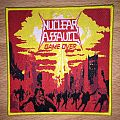 Nuclear Assault Game Over Woven Patch