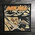 Vintage Overkill I Hear Black Woven Patch