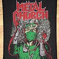 Vintage Metal Church Fake Healer Woven Patch