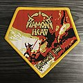 Diamond Head Borrowed Time Woven Patch (Yellow Border)