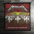 Vintage Metallica Master Of Puppets Woven Patch