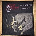 Vintage Flotsam And Jetsam No Place For Disgrace Woven Patch