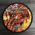Demolition Hammer Tortured Existence Woven Patch