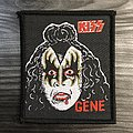Vintage Kiss Gene Simmons Woven Patch