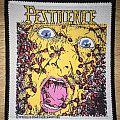 Vintage Pestilence Consuming Impulse Woven Patch