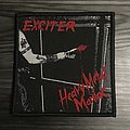Exciter Heavy Metal Manic Woven Patch