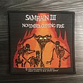 Vintage Samhain November Coming Fire Woven Patch