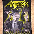 Vintage Anthrax Among The Living Woven Patch
