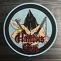 Hallows Eve Tales Of Terror Woven Patch (Light Blue Border)