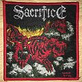 Sacrifice Torment In Fire Woven Patch