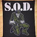 Vintage S.O.D. Seargent D Woven Patch
