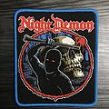 Night Demon Woven Patch (Blue Border)