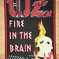 Oz Fire In The Brain Woven Patch