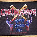 Vintage Cannibal Corpse Hammer Smashed Face Woven Patch