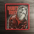 Vintage Quiet Riot Metal Health Woven Patch (Red Border)