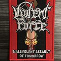 Violent Force Maleviolent Assault Of Tomorrow Woven Patch