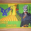 Toxik World Circus Woven Patch (Yellow Border)