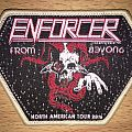 Enforcer North American Tour 2016 Woven Patch