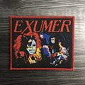 Exumer Possessed By Fire/Rising From The Sea Woven Patch (Red Border)