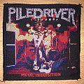 Piledriver Metal Inquisition Woven Patch