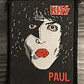 Vintage Kiss Paul Stanley Woven Patch