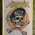 Anthrax N.O.T. Woven Patch