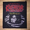 Vintage Kreator Out Of The Dark Into The Light Woven Patch