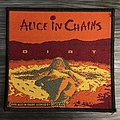 Vintage Alice In Chains Dirt Woven Patch