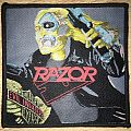 Razor Evil Invaders Woven Patch