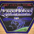 Agent Steel Mad Locust Rising Woven Patch (Blue Border)