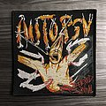 Autopsy Severed Survival Woven Patch (Black Border)
