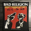 Vintage Bad Religion Recipe For Hate Woven Patch