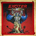 Vintage Exciter Long Live The Loud Woven Patch (Red Border)