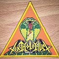 Toxic Holocaust Chemistry Of Consciousness Triangle Woven Patch
