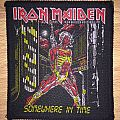 Vintage Iron Maiden Somewhere In Time Woven Patch