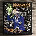 Vintage Megadeth Rust In Peace Woven Patch