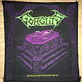 Vintage Gorguts Considered Dead Woven Patch