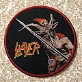 Slayer Show No Mercy Circle Woven Patch
