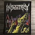 Indestroy Woven Patch (Black Border)