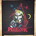 Vintage Warlock Hellbound Woven Patch