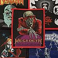 Vintage Megadeth Peace Sells Woven Patch (Red Border)