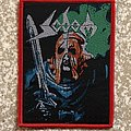 Sodom In The Sign Of Evil Woven Patch (Red Border)