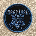 Sentinel Beast - Patch - Sentinel Beast Depths Of Death Woven Patch (Blue Border)
