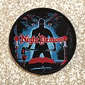 Night Demon Curse Of The Damned Woven Patch (Black Border)