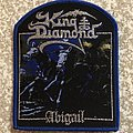 King Diamond Abigail Woven Patch (Blue Border)