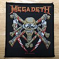 Vintage Megadeth Killing Is My Business Woven Patch