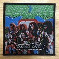 Overkill Taking Over Woven Patch
