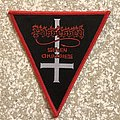 Possessed Seven Churches Triangle Woven Patch