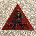 Megadeth Peace Sells But Who's Buying? Triangle Woven Patch
